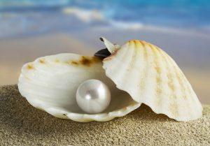 Перли бижута зодия жени естествен камък