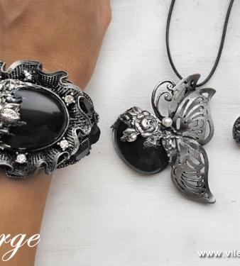 бижута с естествени камъни за Свети Валентин жени любов подаръци