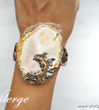 елегантни бижута дизайнерски винтидж гривни подаръци жени