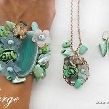 елегантни бижута за жени подарък за Осми март колекция 2017-2018 пролет
