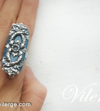 винтидж пръстени елегантни бижута подаръци за 8 март жени
