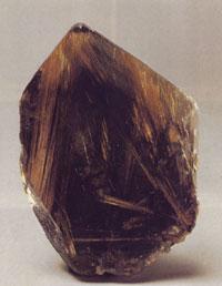 Естествен камък Рутил бижута произход