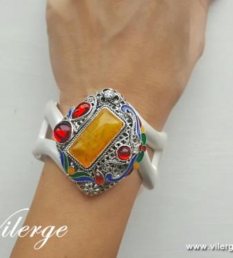Великден бижута за жени подарък празник Кехлибар гривна