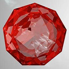 Естествен камък РУБИН бижута за жени колекция