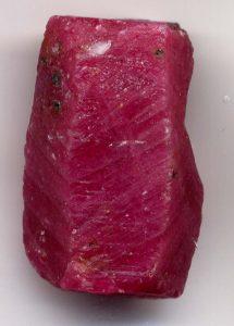 РУБИН кристал естествен камък магични лечебни свойства