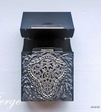 елегантен подарък за жени кутия за цигари запалка празник