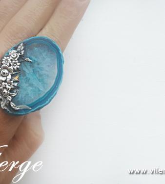 елегантен винтидж пръстен бижута за Лято красиви жени