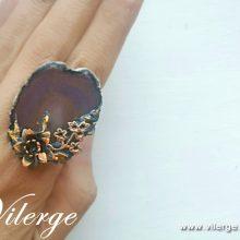 елегантен винтидж пръстен за сезон Лято бижута за жени