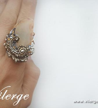 красив винтидж пръстен елегантни бижута за жени Лято