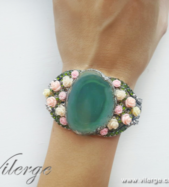 красивота мода гривна цветя жени бижута за лято