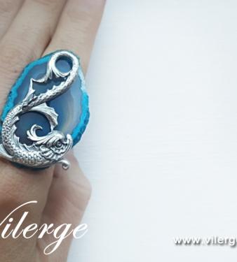 винтидж пръстен бижута Великден декорация жени подарък