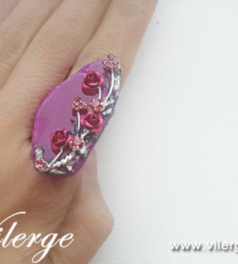 винтидж пръстен бижута за Лято красиви жени стилни