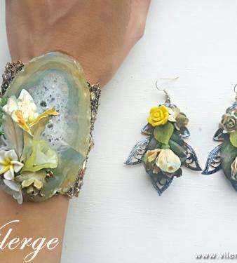 бутикови бижута елегантни подаръци за жени Лято винтидж гривна