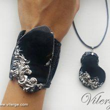 красиви бижута за лято колекция море гривни за жени сребро подарък