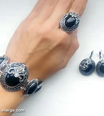 красиви винтидж бижута елегантни гривни за жени стилни пръстени