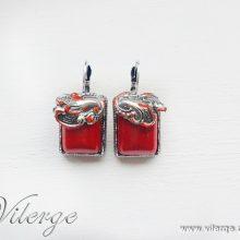 красиви винтидж обеци колекция Лято луксозен подарък за жени