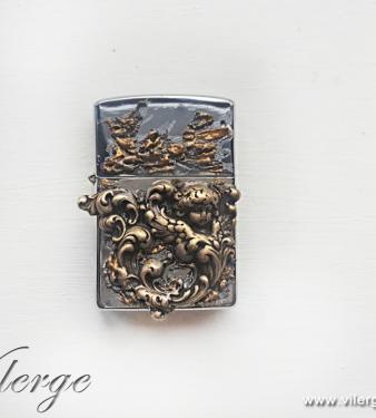 луксозна бензинова запалка подарък за мъже жени цигари