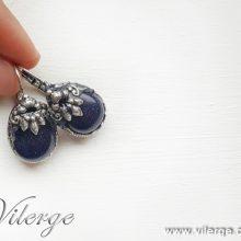 стилни винтидж обеци луксозни бижута за жени Лято колекция