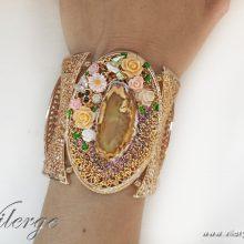 ангелски бижута елегантни естествени камъни Лято жени подарък