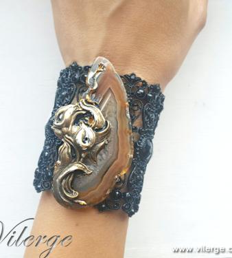 калии арт с естествени камъни красиви подаръци за жени гривни