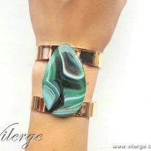 красива гривна винтидж бижута естествен камък подарък жени