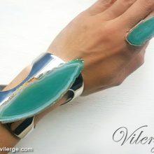 красиви подаръци за жени с бижута тюркоаз пръстен Лято Море