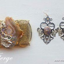 Кралска есен бижута за жени пръстен гривна подарък празник