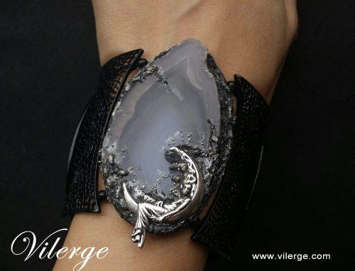 Вълшебни бижута ВИЛЕРЖЕ с естествен камък - уникални подаръци за дами - празник и рожден ден
