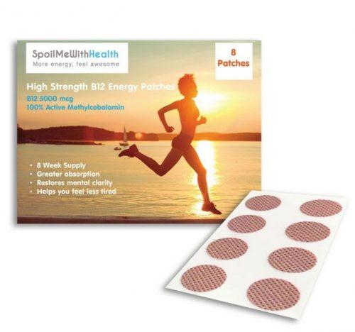 Витамин B12 Метилкобаламин - лепенки и пластири B12 - Methyl MEGA Patches