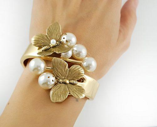 Топ подарък с гривни за 14 февруари и модни бижута за празник на влюбените златна серия гривни за Свети Валентин